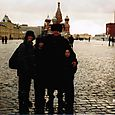 The Nelson Family in Red Square